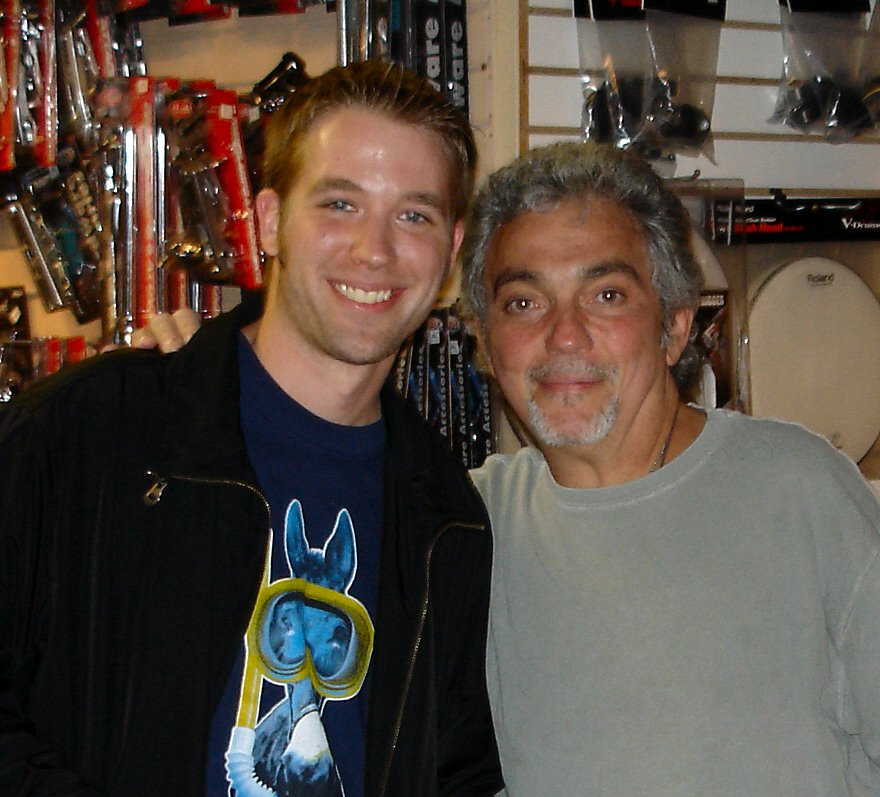 Meeting Steve Gadd in Nashville in my